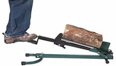Quality Craft foot operated - best log splitter for the money
