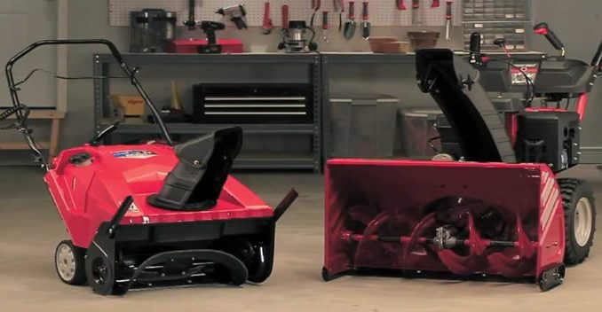 Single Stage vs Dual Stage Snow Blower