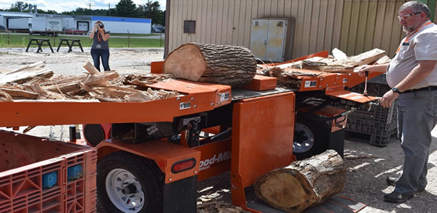 Wood-Mizer – best log splitter for the money