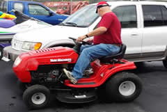Yard Machines lawn tractor - discount riding lawn mowers