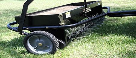 aerator and overseeder combo - best time to aerate and overseed