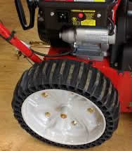 airless tires - snow blower buyers guide