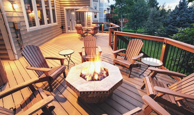 best fire pits for a deck