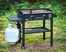 blackstone 28 inch with propane bottle