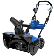 electric single-stage snow blower
