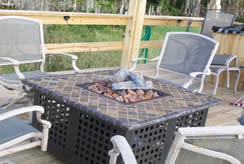 endless summer fire pit - Best Fire Pits for a Deck