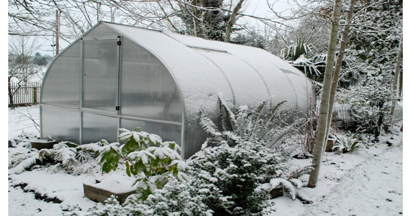how to use a greenhouse in the winter