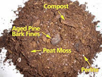 potting mix ingredients - how to grow vegetables in pots at home