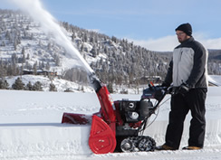 snow depth - snow blower buyers guide