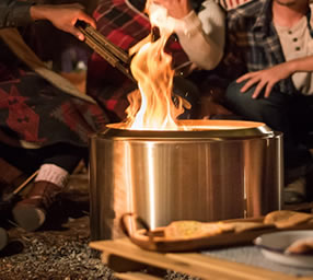 solo stove - Best Fire Pits for a Deck