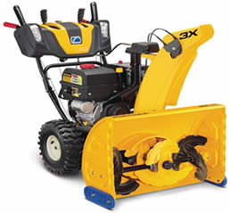 Cub Cadet 3x three-stage snow blower