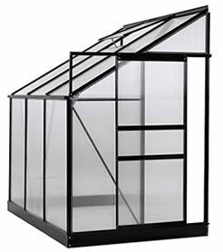Ogrow 25 sq.ft lean-to greenhouse