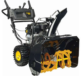 Poulan Pro two-stage snow blower