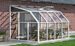 Rion lean-to greenhouse
