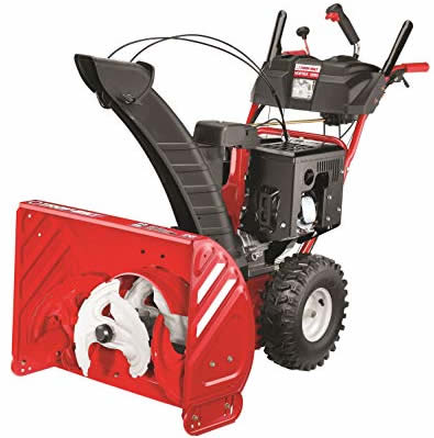 Three-stage snow blower Troy Bilt Vortex