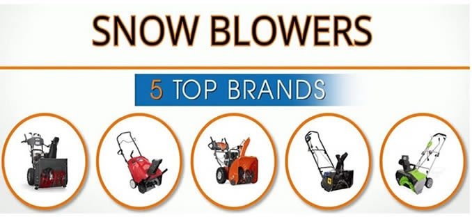 Top Snow Blower Brands