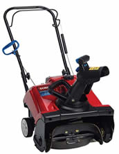Toro gas-powered lightweight snow blower