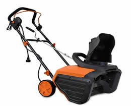 WEN lightweight electric snow blower