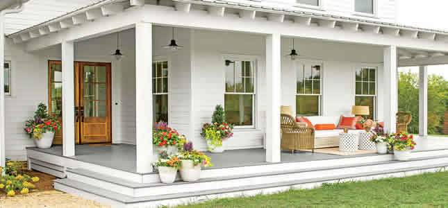 best flowers for pots on porch