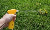 modern sprayers are very accurate