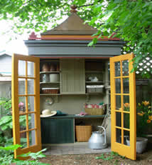 Cabinet shed