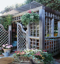 perfect gardeners shed