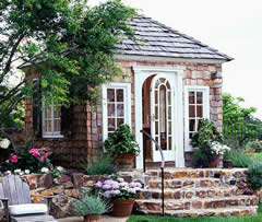 step-up shed