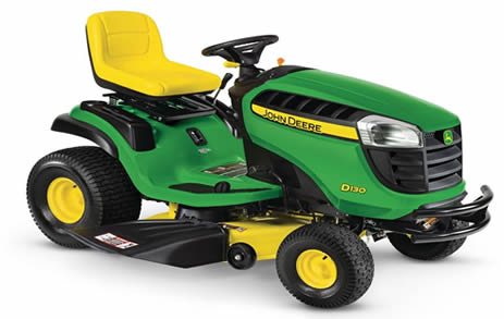 Typical garden tractor - the X330 by John Deere